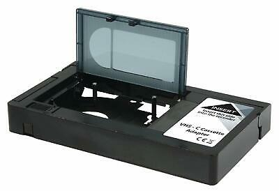 Motorised VHS-C Compact Video Cassette Tape Adaptor Battery Operated Camcorder