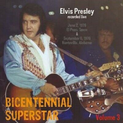 ELVIS PRESLEY - BICENTENNIAL SUPERSTAR VOL. 3 - TNT Label