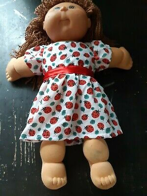 Homemade Cabbage Patch Lady Bug Dress