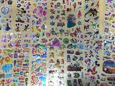 Bulk Sale Assorted Stickers Large Variety Scrapbooking/Card Making/Kids 100+