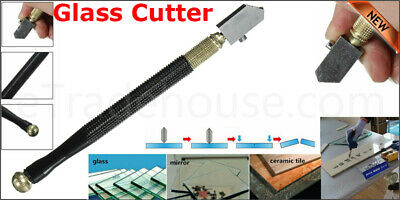 Professional Glass Cutter Oil Lubricated Cutters With Grip Carbide  Precision..