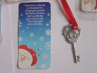 1 x Santa's Magic Entry Key - If you have no chimney on Christmas Eve .........