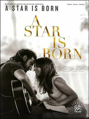 A Star Is Born Piano Vocal Guitar Sheet Music Book Movie Soundtrack Black Eyes