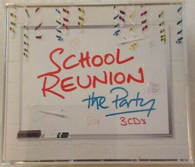 School Reunion, The Party - Various Artists - 3CD's - 62 Tracks
