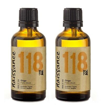 Naissance Ginger Pure Essential Oil 100ml (2 x 50ml) Wholesale