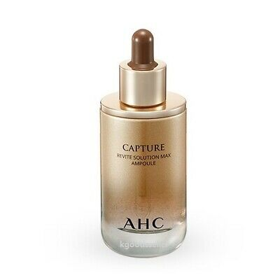 AHC Capture Revite Solution Max Ampoule 50ml 1.69oz. Wrinkle Care Free Tracking