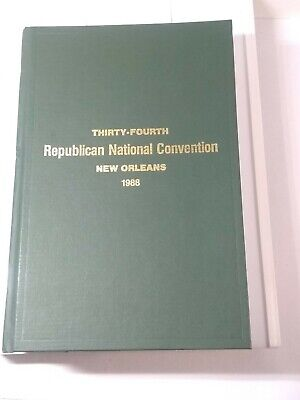 Thirty-Fourth Republican National Convention New Orleans  1988 & Pahmplet
