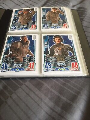 doctor who alien attax Cards