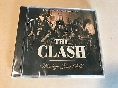 MONTEGO BAY 1982  by CLASH, THE  Compact Disc Ltd edition rare live show