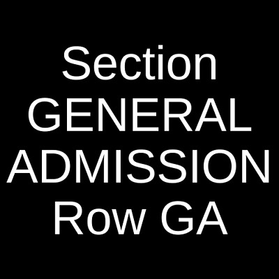 4 Tickets The Mountain Goats 8/31/19 Top Hat Lounge & Casino Missoula, MT