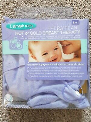 Lansinoh Therapearl Breast Therapy hot or cold mastitis engorgement NEW