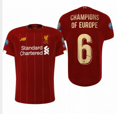 LIVERPOOL FC 19/20 - Special Edition Home Shirt *CHAMPIONS OF EUROPE* Men's BNWT