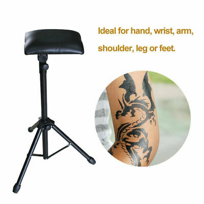 Tattoo Armrest Foldable Foam Pad Arm Bar Leg Rest Stand with Comfortable