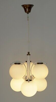 Original Sixties 70er Years Sputnik Ceiling Light Space Age Design Vintage
