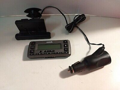Sirius SV3R Satellite Radio Receiver And Charger