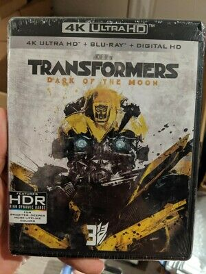 Transformers Dark of the Moon (Blu-ray + 4K UHD) BRAND NEW!!