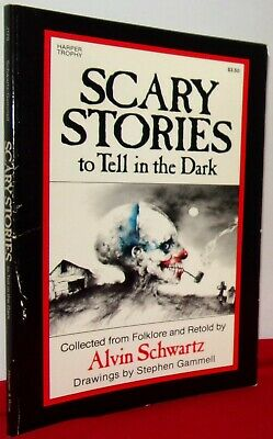 Scary Stories To Tell In The Dark: 1981 Paperback Book: Free Shipping