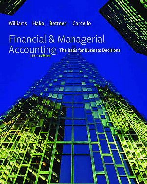 Financial & Managerial Accounting: The Basis for Business Decisions [P.D.F]