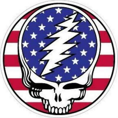 Grateful Dead American Flag Sticker
