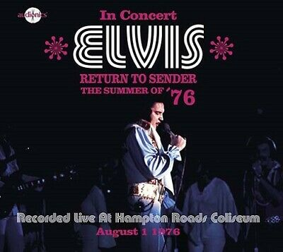 ELVIS PRESLEY - RETURN TO SENDER (The summer of '76) - Audionics label