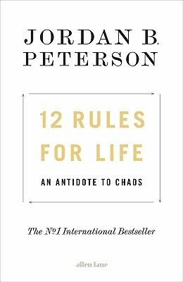 New 12 Rules For Life By Jordan B Paterson (Paperback) Free Postage