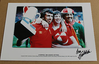 Bruce Grobbelaar Liverpool Hand Signed A3 Autograph Photo Print + Coa Proof