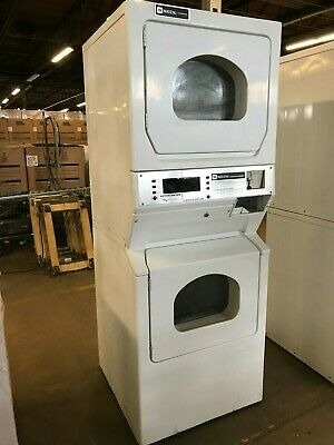MLG15PD Coin Operated Maytag Single Load Stack Dryer, Used