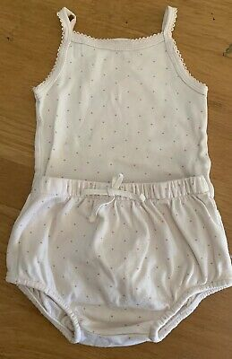 Jamie Kay Bloomers And Singlet Suit 6-12 Months