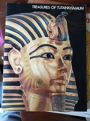 Treasures of Tutankhamun 1976 Museum Tour Exhibition Catalog Kit- KING TUT