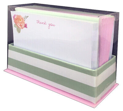 Graphique de France Box of 10 Thank You Cards Ladybug