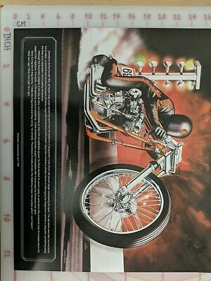 David Mann Classic motorcycle art 3 - Easyriders Drag Bike
