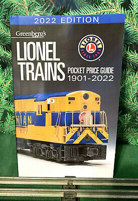 2020 Lionel Pocket Price Guide. Greenberg's Latest Edition, Brand New! (X10)
