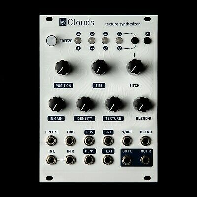 Mutable Instruments Clouds Eurorack Synthesizer Clone Module (White Textured)