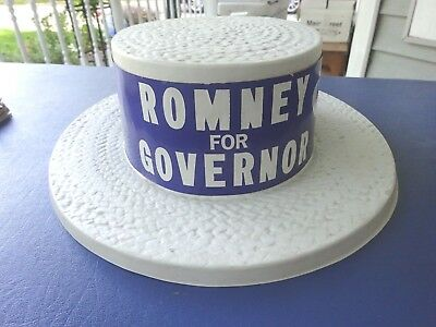 1960's George Romney for Michigan Governor Campaign Hat