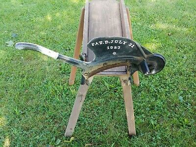 Antique corn Stalk Chopper