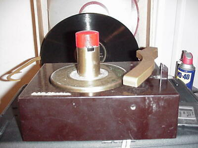 RCA Victor 9-EY-3 Vintage Record Player RP168-1A274 Non-Working