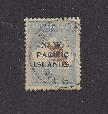"N.w. Pacific Islands (Aust Occ) - 26 - Used - 1916 - ""N.w. Pacific Islands"" O/P"