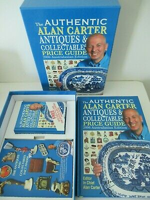 The Authentic Alan Carter Antiques & Collectables Price Guide 2006 Boxed Set