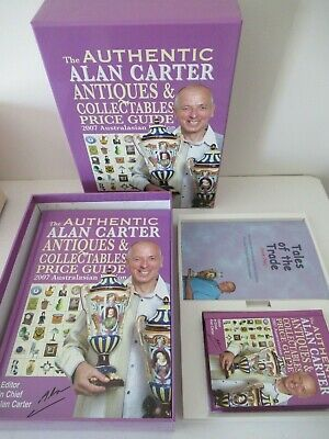 The Authentic Alan Carter Antiques & Collectables Price Guide 2007 Boxed Set