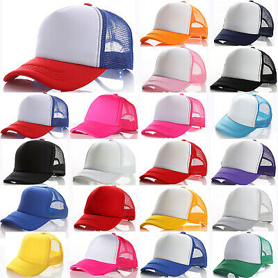 Children Boys Girls Kids Outdoor Snapback Trucker Baseball Cap Sports Sun Hat