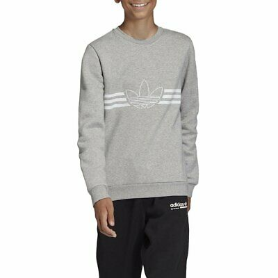 Sweater adidas Outline Grey Kids