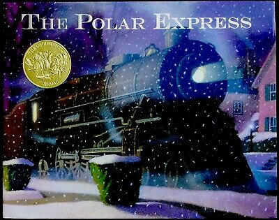THE POLAR EXPRESS ~ Vintage Children's Classic Christmas Story Book