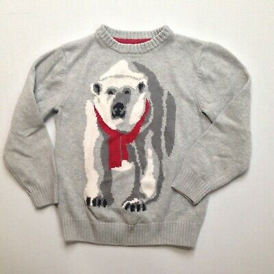 GYMBOREE FAIR ISLE FLURRY IVORY w// GIRL /& HUSKY ON A SLED L//S TEE 4 5 6 8 NWT