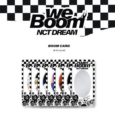 Nct Dream - 3Rd Mini Album We Boom Boom Card Jisung Jaemin Haechan Renjun Chenle