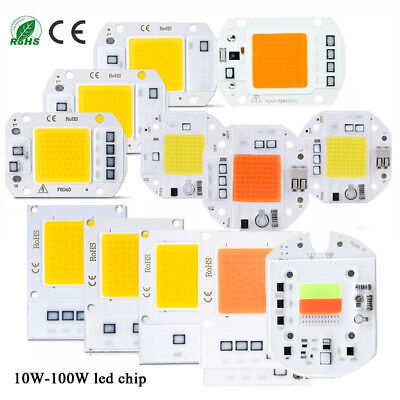 LED Floodlight COB Chip 20W 50W 70W 100W Light I Full spectrum Smart IC Driver