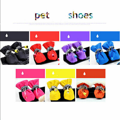 Pet Shoes Winter Dog Cat Snow Boots Warm Puppy Boots for Chihuahua 4pcs/set