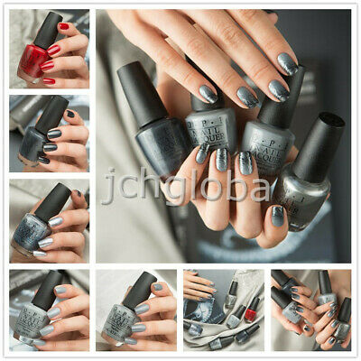 NEW OPI F75- F79# FIFTY SHADE OF GREY Nail Polish Lacquer 2015 Series COLLECTION