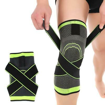 2X Knee Compression Sleeve for Arthritis Joint Pain Relief Workout Sport GA