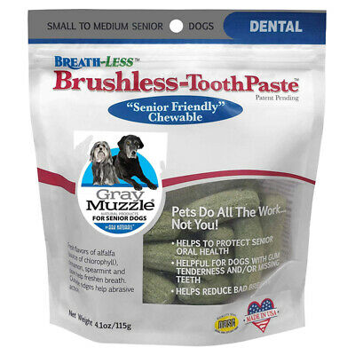 ARK NATURALS - Gray Muzzle Brushless Toothpaste Large for Dogs - 4.1 oz. (115 g)