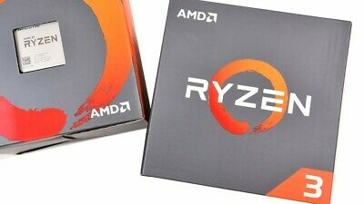 AMD Ryzen 3 2200G, 4 Core AM4 CPU, 3.7GHz 6MB 65W Wraith Stealth Cooler Fan